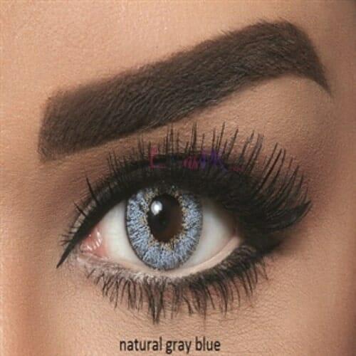Bella Natural Gray Blue Contact Lenses - lenspk.com