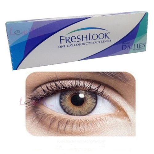 Buy Freshlook Pure Hazel Contact Lenses - One-Day - lenspk.com