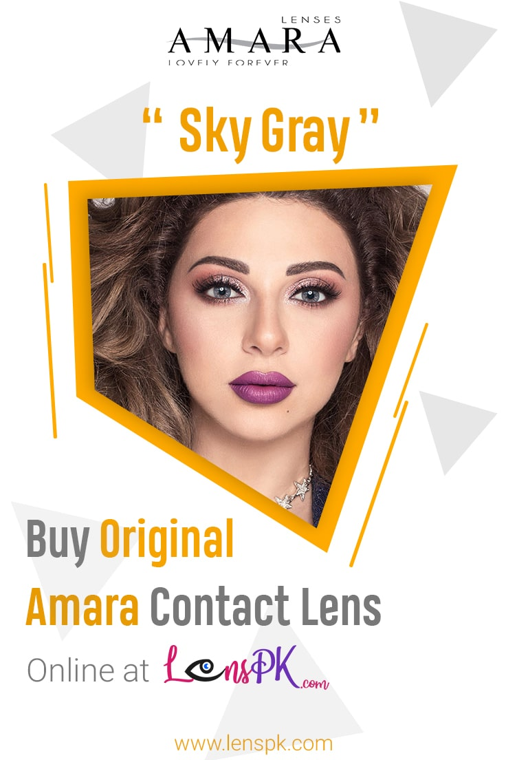 Sky Gray amara eye lenses