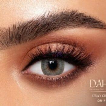 Buy Dahab Sabrin Gray Green Contact Lenses - Gold Collection - lenspk.com